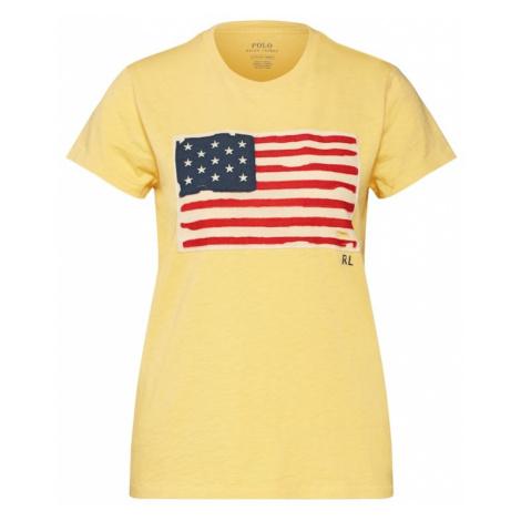 POLO RALPH LAUREN Koszulka żółty / mieszane kolory