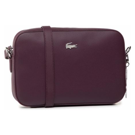Torebka LACOSTE - Square Crossover Bag NF2771DC Grape Wine