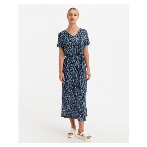 ICHI Marrakech Sukienka Niebieski