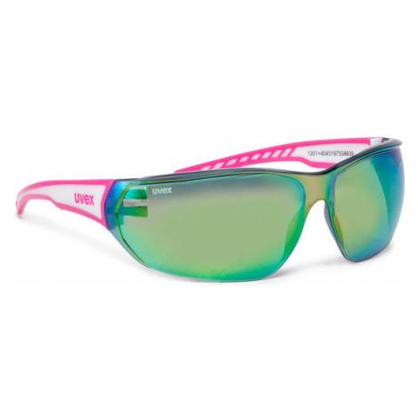 Uvex Okulary przeciwsłoneczne Sportstyle 204 S5305253816 Różowy
