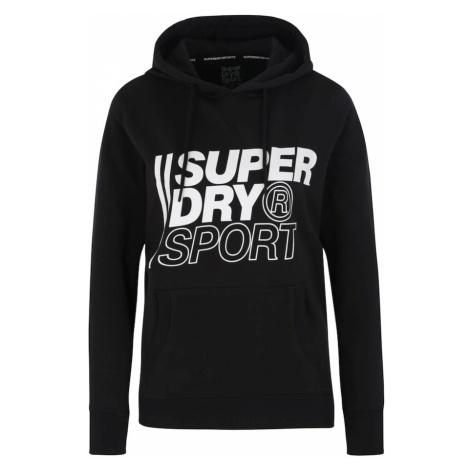 Superdry Bluzka sportowa 'Core Sport Overhead' czarny