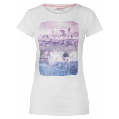 Lee Cooper Fashion Photo T Shirt Ladies