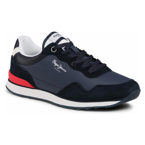 Sneakersy PEPE JEANS - Cross 4 Urban PMS30669 Navy 595