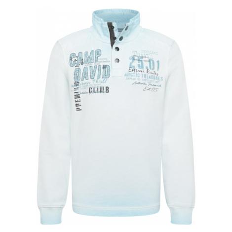 CAMP DAVID Bluzka sportowa czarny / lazur / opal