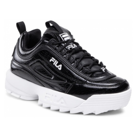 Fila Sneakersy Disruptor F Kids 1011081.25Y Czarny