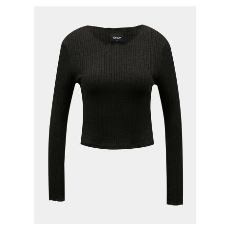 TYLKO czarna koszulka Only