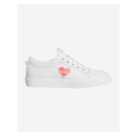 adidas Originals Nizza Trefoil Tenisówky Biały