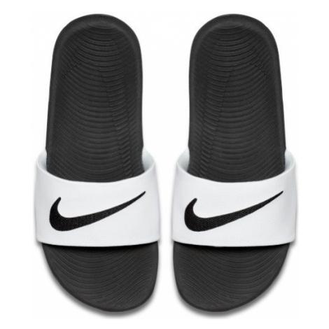 Klapki dla małych/dużych dzieci Nike Kawa - Biel