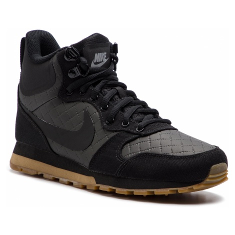 Buty NIKE - Md Runner 2 Mid Prem 845059 004 Black/Black/Gum Light Brown