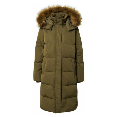 MOSS COPENHAGEN Płaszcz zimowy zielony