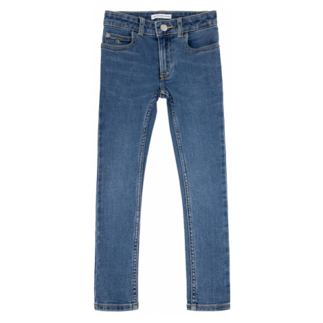 Calvin Klein Jeans Jeansy Mr Ess Fresh IG0IG00367 Granatowy Super Skinny Fit