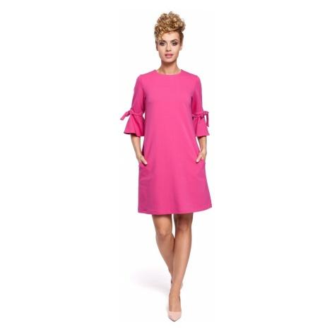 Made Of Emotion Woman's Dress M286 Fuchsia