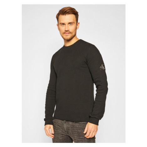 Calvin Klein Jeans Sweter J30J316610 Czarny Regular Fit