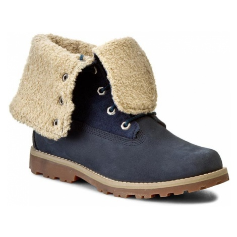 Trapery TIMBERLAND - Auth 6In Shrl Bt 1690A/TB01690A4841 Blue