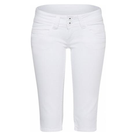 Pepe Jeans Jeansy 'Venus' biały denim