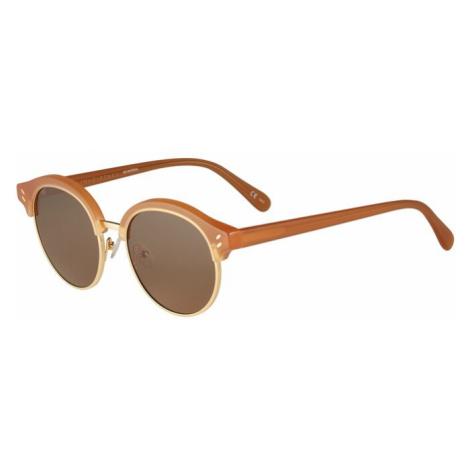 Stella McCartney Okulary przeciwsłoneczne 'SC0120S 50' zielony / żółty