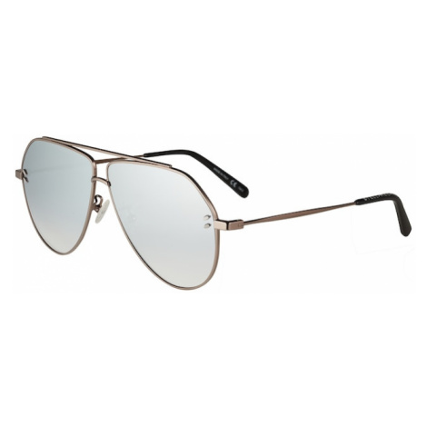 Stella McCartney Okulary przeciwsłoneczne 'SC0063SI 60' srebrny / brąz