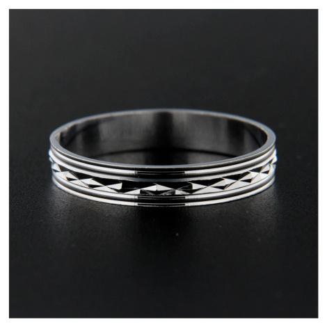Pierścionek srebrny 13832