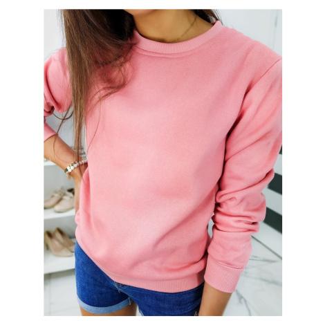 Bluza damska FASHION II różowa BY0322 DStreet