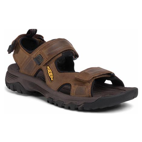 Sandały KEEN - Targhee III Open Toe Sandal 1022423 Bison/Mulch