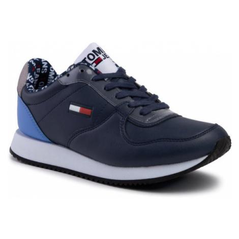 Tommy Jeans Sneakersy Wmns Casual Tommy Jeans Sneaker EN0EN00719 Granatowy Tommy Hilfiger