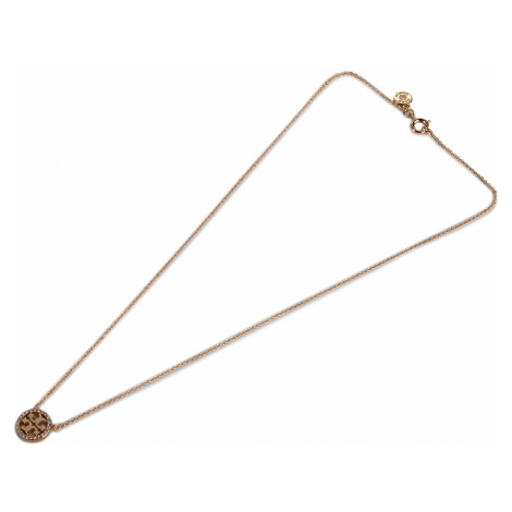 Naszyjnik TORY BURCH - Crystal Logo Delicate Necklace 53420 Tory Gold 783