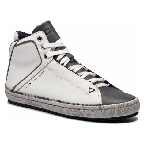 Sneakersy GUESS - FMMID4 LEA12 WHITE