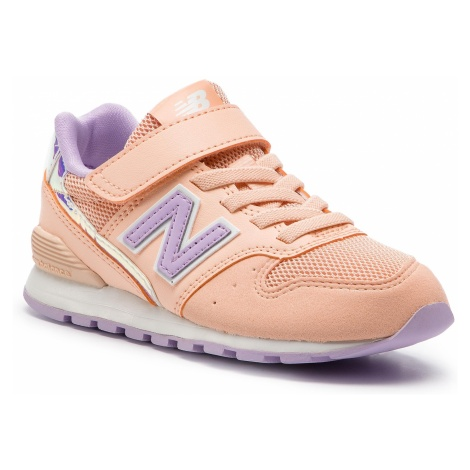 Sneakersy NEW BALANCE - YV996M2 Pomarańczowy