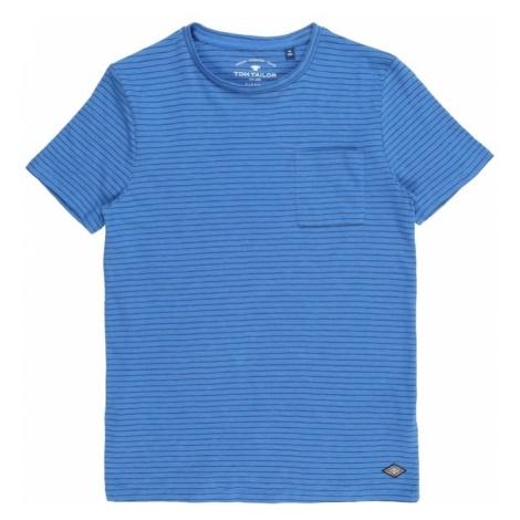 TOM TAILOR Koszulka niebieski / ciemny niebieski