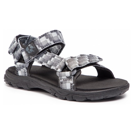 Sandały JACK WOLFSKIN - Seven Seas 2 Sandal B 4029951 S Pebble Grey