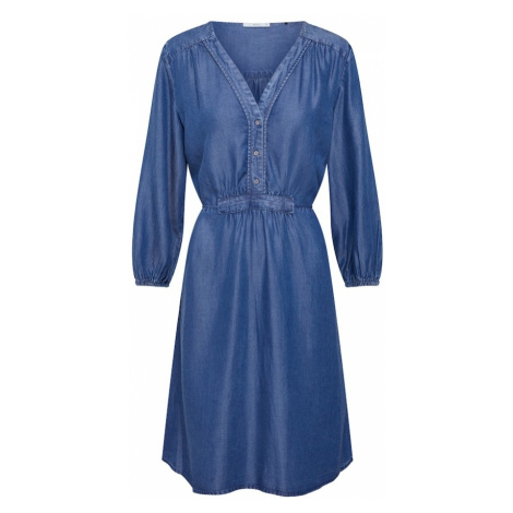 EDC BY ESPRIT Sukienka 'New Tencel Dresses light woven' niebieski / szary