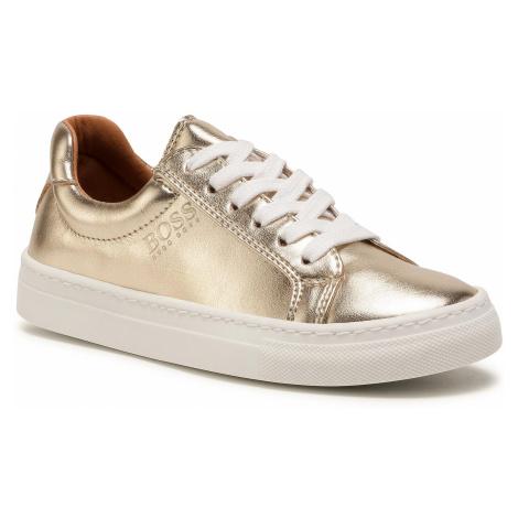 Sneakersy BOSS - J19044 D Golden Z98 Hugo Boss