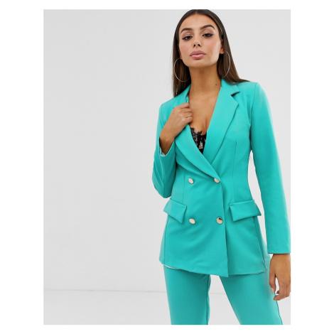 Boohoo tailored blazer in jade green