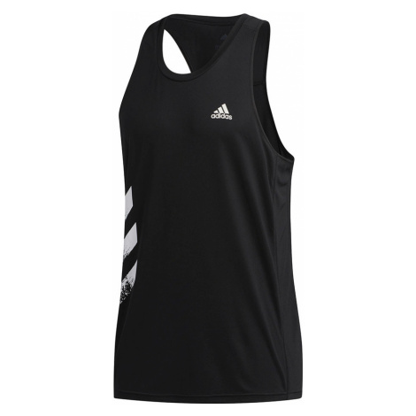 Adidas Own The Run 3-Stripies PB Singlet M Czarny