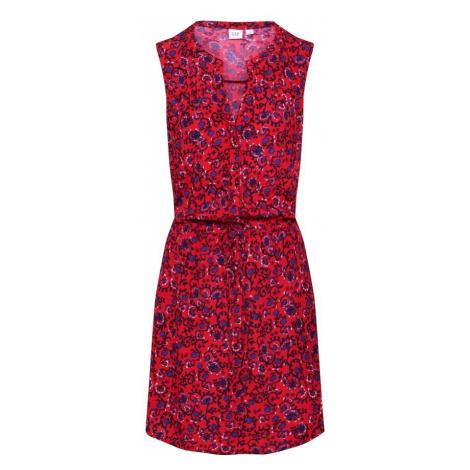 GAP Letnia sukienka mieszane kolory / czerwony