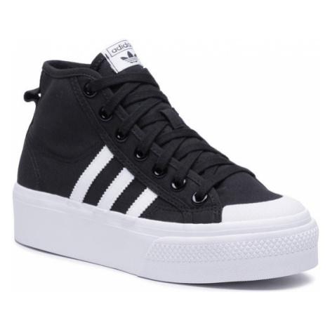 Adidas Buty Nizza Platform Mid W FY2783 Czarny