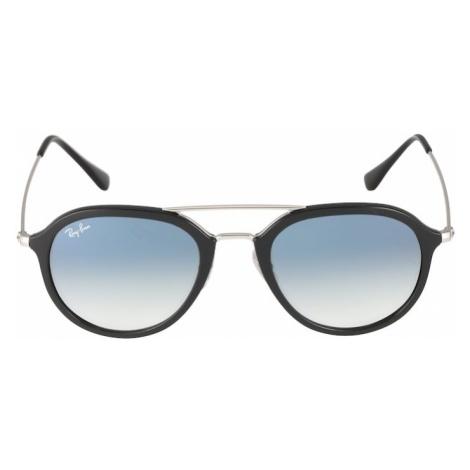 Ray-Ban Okulary przeciwsłoneczne '0RB4253' czarny / srebrny
