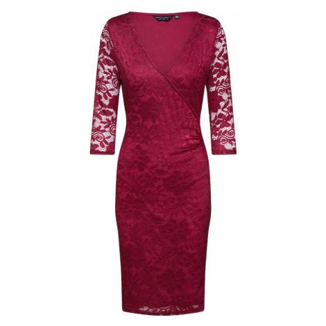 Dorothy Perkins Sukienka 'WRAP' czerwony