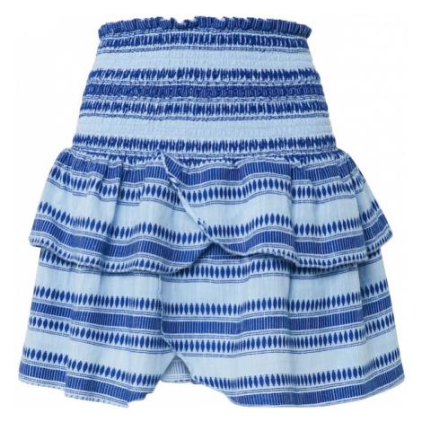 Neo Noir Spódnica 'Carin Stitch Skirt' jasnoniebieski