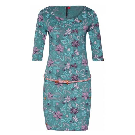 Ragwear Sukienka 'TANYA FLOWERS' zielony