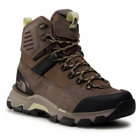 Trekkingi THE NORTH FACE - Crestvale Futurelight NF0A46BPNB41 Walnut/Tender Yellow