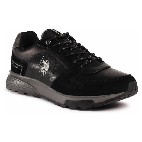 Sneakersy U.S. POLO ASSN. - Demir AXEL4107W0/YS1 Blk