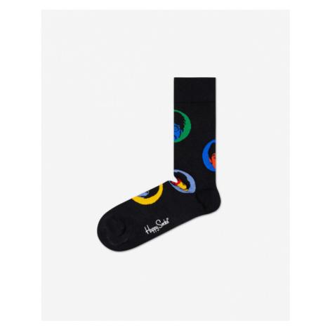 Happy Socks Beatles Bright Spot Skarpetki Czarny