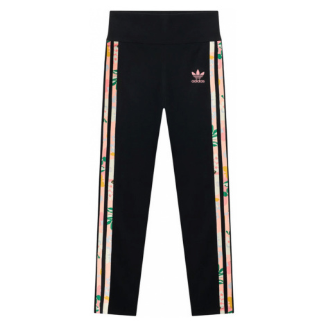 Adidas Legginsy HER Studio London Floral GN4219 Czarny Slim Fit