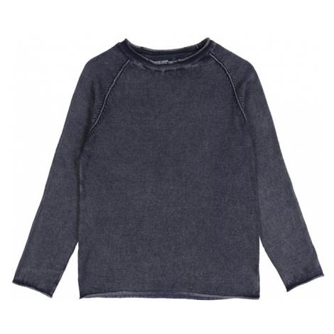 BLUE SEVEN Sweter gołąbkowo niebieski