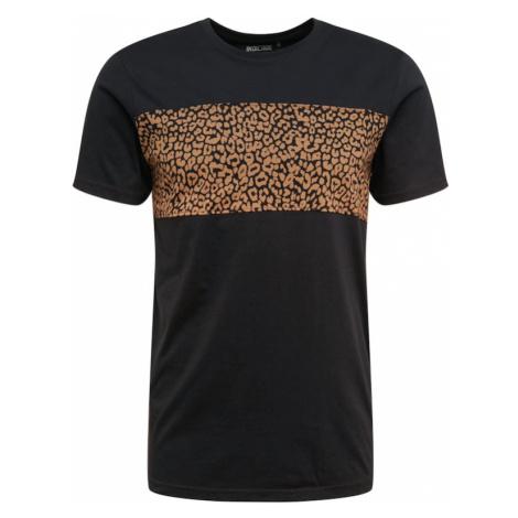INDICODE JEANS Koszulka 'Circular' czarny
