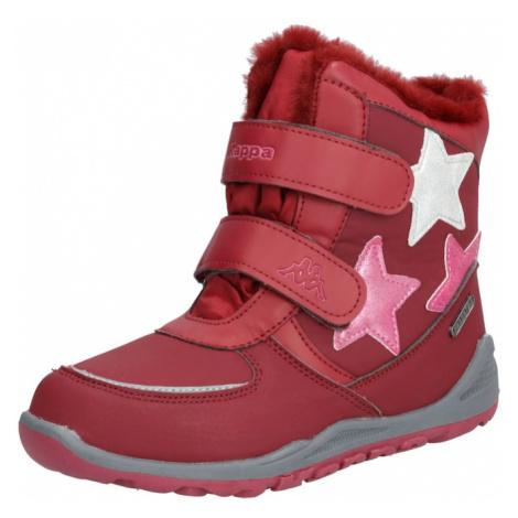 KAPPA Śniegowce 'Glitzy TEX' różowy / czerwony