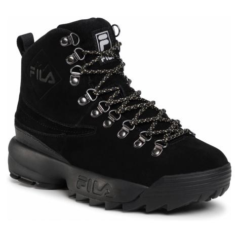 Trapery FILA - Disruptor Hiking Boot Wmn 1011018.12V Black/Black