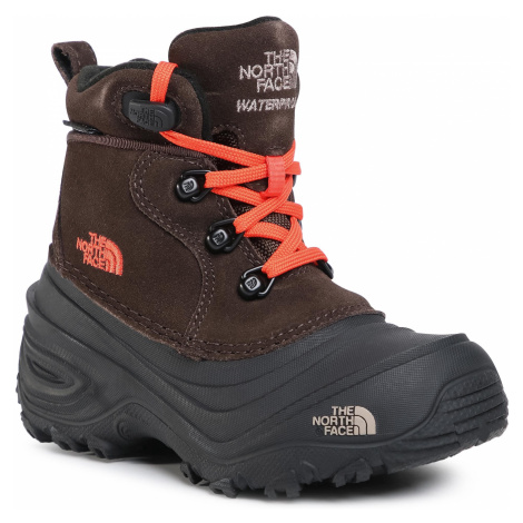 Śniegowce THE NORTH FACE - Youth Chilkat Lace II NF0A2T5RV6M Coffee Brown/Flare