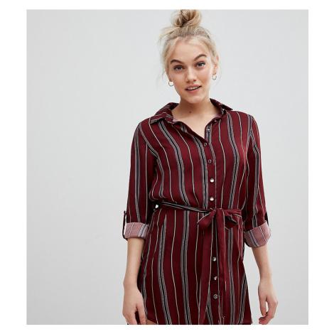 Parisian Petite stripe shirt dress